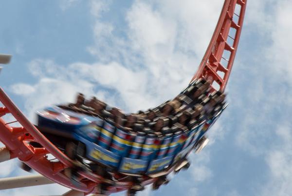 Real Estate Sales Roller Coaster